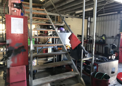 Port Elliot Mechanical and Victor Harbor Diesel has extensive storage space on the first floor which allows then to carry spare parts